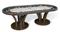 VENICE Fixed Top Texas Hold'em Table