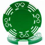 Royal Suited 11.5g GREEN Casino Poker Chip