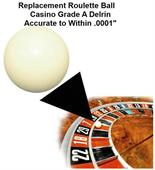 Ball for Roulette Wheel (Pill)