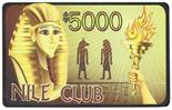 $5,000 Nile Club 10 Gram Ceramic Plaque Sold by the Roll 25 pcs. per Roll