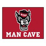 NC State Man Cave All-Star Mat 33.75 Inch x 42.5 Inch