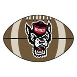 NC State Football Rug 20.5 Inch x 32.5 Inch