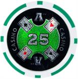 Ace Casino 14 gram - $25 Sold by the Roll25 pcs. per Roll