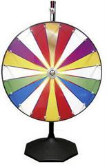 Prize Wheel / Carnival Wheel - COLOR WHEEL