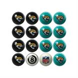 Jacksonville Jaguars Home Vs Away Billiard Ball Set