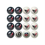 Houston Texans Home Vs Away Billiard Ball Set