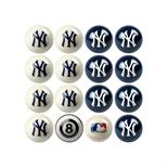 New York Yankees Home Vs Away Billiard Ball Set