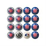 Chicago Cubs Home Vs Away Billiard Ball Set