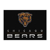 Chicago Bears 6 ft. x8 ft. Chrome Rug