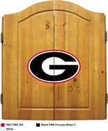 University of Georgia Dart Cabinet Set