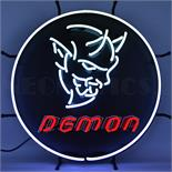 Dodge Demon Neon Sign With Backing