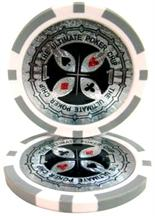 The Ultimate Poker Chip Series 14 gram - $1 Sold by the Roll 25 pcs. per Roll