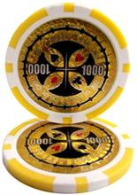 The Ultimate Poker Chip Series 14 gram - $1000 Sold by the Roll 25 pcs. per Roll