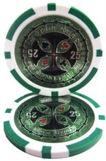 The Ultimate Poker Chip Series 14 gram - $25 Sold by the Roll 25 pcs. per Roll