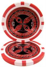 The Ultimate Poker Chip Series 14 gram - $5 Sold by the Roll 25 pcs. per Roll