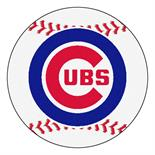 MLB - Chicago Cubs Baseball Mat 27 diameter