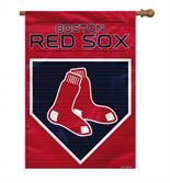 Boston Red Sox 2-Sided 28 X 40 House Banner