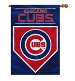 Chicago Cubs 2-Sided 28 X 40 House Banner