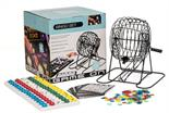 Large Metal Party Bingo Cage Set