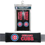 Chicago Cubs Seat Belt Pad 2 Pack