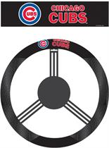 Chicago Cubs Poly-Suede Steering Wheel Cover