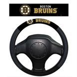 Boston Bruins Poly-Suede Steering Wheel Cover