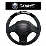 Buffalo Sabres Poly-Suede Steering Wheel Cover