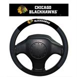 Chicago Blackhawks Poly-Suede Steering Wheel Cover