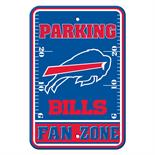 Buffalo Bills Plastic Parking Sign - Fan Zone