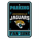 Jacksonville Jaguars Plastic Parking Sign - Fan Zone
