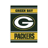 Green Bay Packers 2-Sided 28 X 40 House Banner