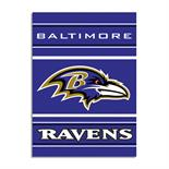 Baltimore Ravens 2-Sided 28 X 40 House Banner