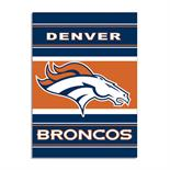 Denver Broncos 2-Sided 28 X 40 House Banner