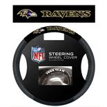 Baltimore Ravens Poly-Suede Steering Wheel Cover
