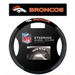 Denver Broncos Poly-Suede Steering Wheel Cover