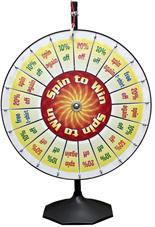 Pocket Prize Wheel With Stand & Base