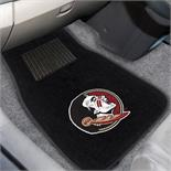 Florida State 2-piece Embroidered Car Mats 18