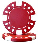Red Diamond Suited Poker Chips 12.5 gram Poker Chips
