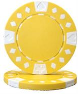 Yellow Diamond Suited Poker Chips 12.5 gram Poker Chips