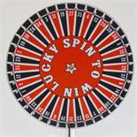 Prize Wheel 23 inch with 40 Numbers On Stand with Laydown