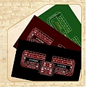 Custom Craps Long Lasting Polyester Fabric Table Layouts