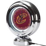 Cleveland Cavaliers NBA Chrome Retro Style Tabletop Neon Clock