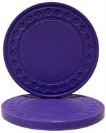 Super Diamond Poker Chips - PURPLE Sold by the Roll