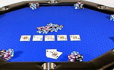 Octagon Poker Table Speed Cloth Poker Table Folding Poker Table Poker Table.  Click Image To Enlarge