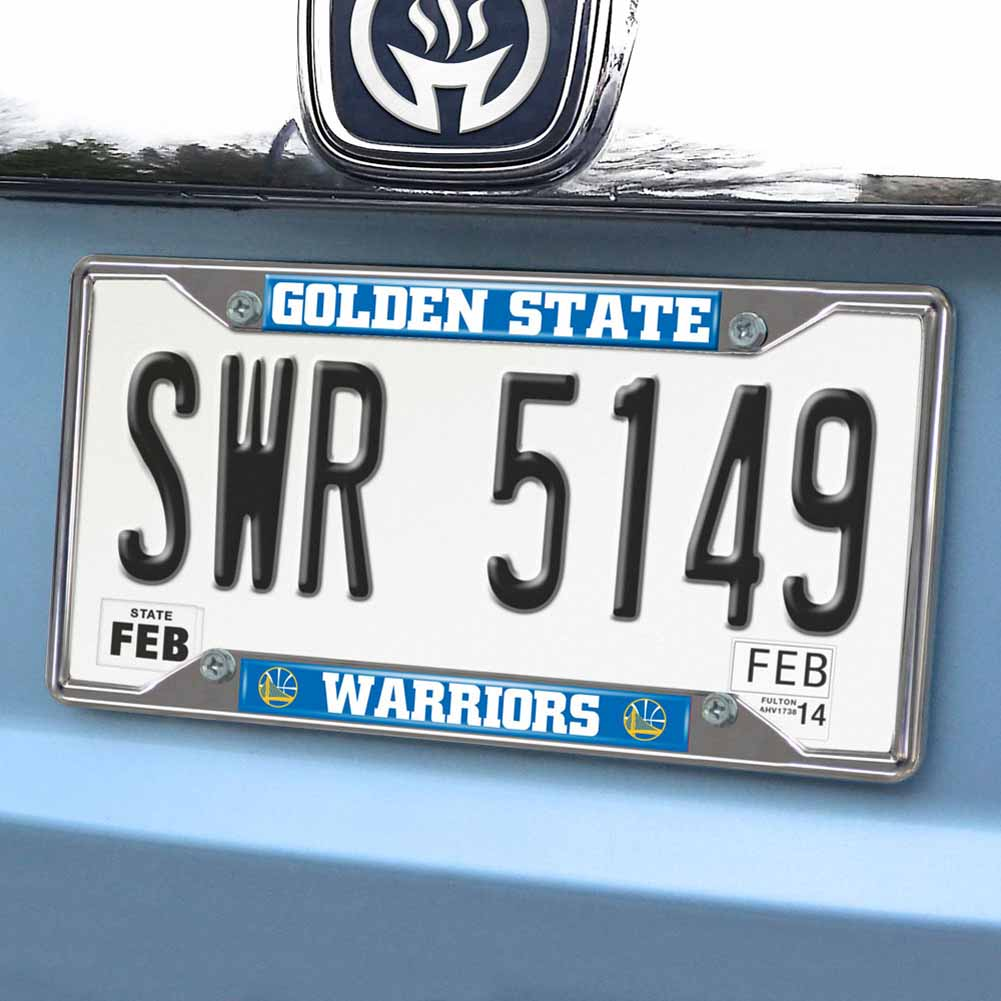 Nba Golden State Warriors License Plate Frame 625x1225