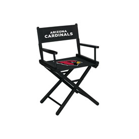 Arizona Cardinals Table Height Directors Chair