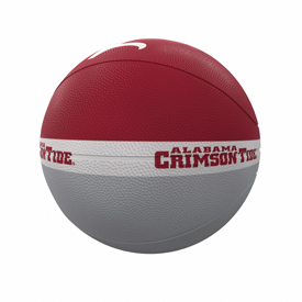 Alabama Court Official-Size Rubber Basketball