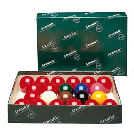 Aramith 2 1/8-In. Snooker Ball Set