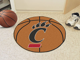 Cincinnati Basketball Mat 27 diameter