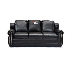 Buy Denver Broncos Coach Leather Sofa Online ...